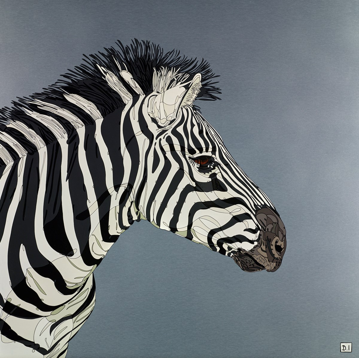 Zebra Crossing by dylan izaak -  sized 36x36 inches. Available from Whitewall Galleries